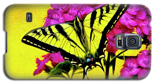 Swallow Tail Feeding Galaxy S5 Case by James Steele