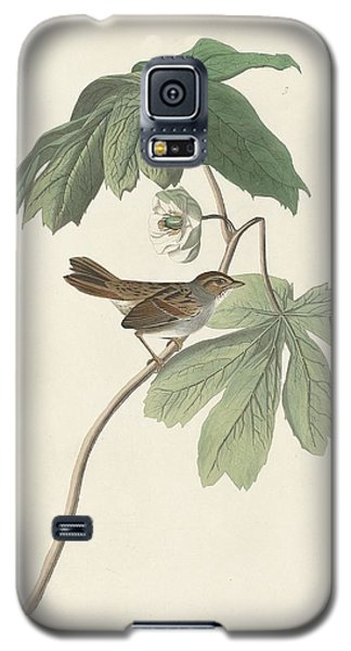 Swamp Sparrow Galaxy S5 Case by Dreyer Wildlife Print Collections