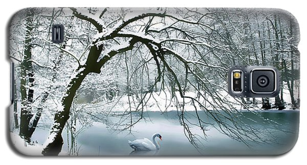 Swan A Swimming Galaxy S5 Case