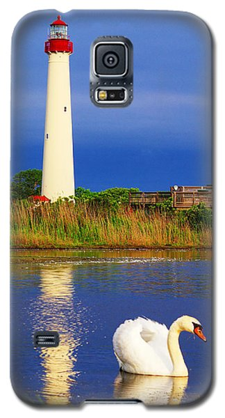 Swan At The Lighthouse Galaxy S5 Case