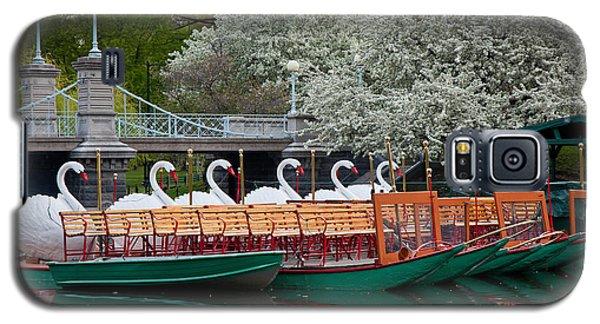 Swan Boat Spring Galaxy S5 Case
