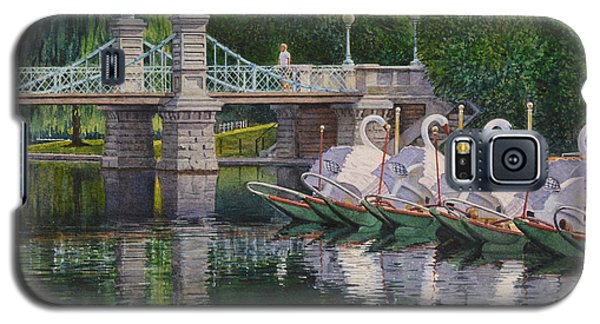 Swan Boats Boston Common Galaxy S5 Case