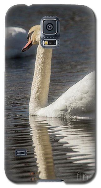 Galaxy S5 Case featuring the photograph Swan by David Bearden