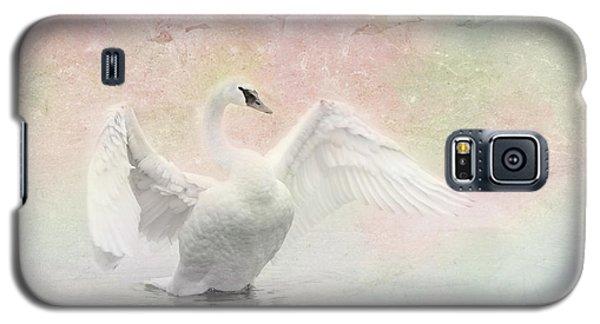 Swan Dream - Display Spring Pastel Colors Galaxy S5 Case