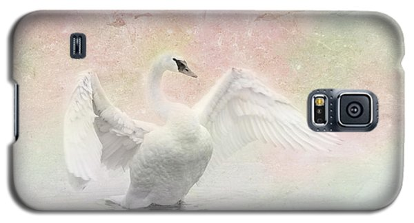 Swan Dream - Display Spring Pastel Colors Galaxy S5 Case