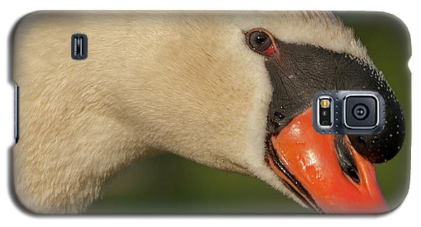 Swan Headshot Galaxy S5 Case