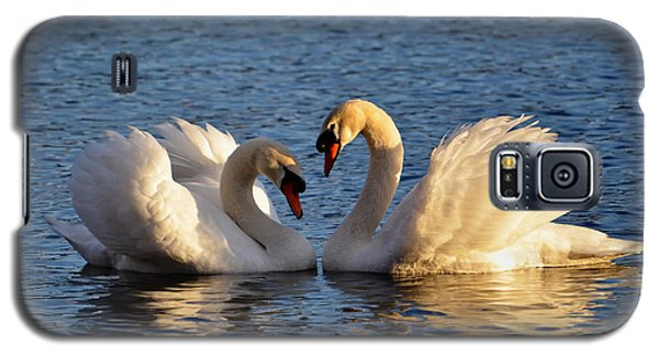 Swan Heart Galaxy S5 Case