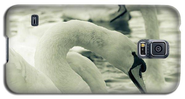 Swan In Water Galaxy S5 Case