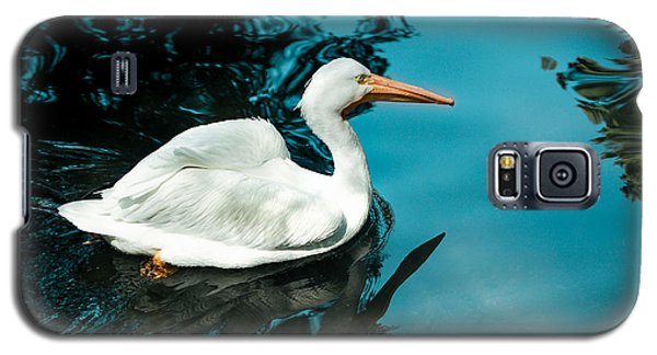 Galaxy S5 Case featuring the photograph Swan Lake by Debbie Karnes