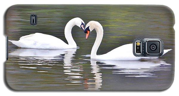 Swan Love Galaxy S5 Case by Diane Alexander