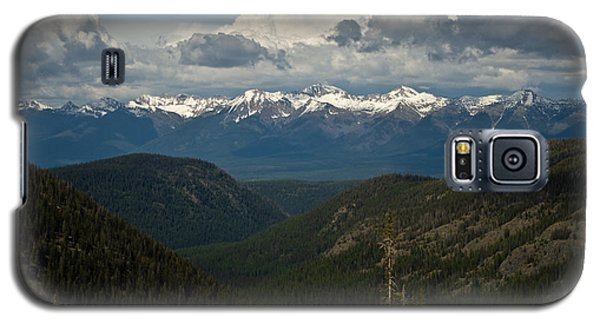 Swan Mountain Range Galaxy S5 Case