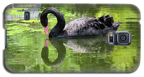 Swan Of Hearts Galaxy S5 Case