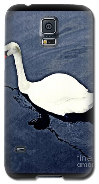 Galaxy S5 Case featuring the photograph Swan On The Rhine by Sarah Loft
