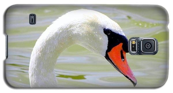 Swan Profile Galaxy S5 Case by Terri Mills