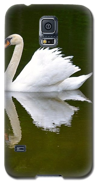 Swan Reflecting Galaxy S5 Case