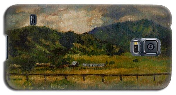 Swan Valley Hillside Galaxy S5 Case