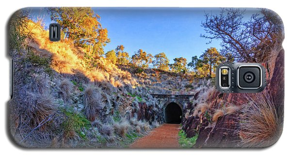 Swan View Railway Tunnel Galaxy S5 Case by Dave Catley