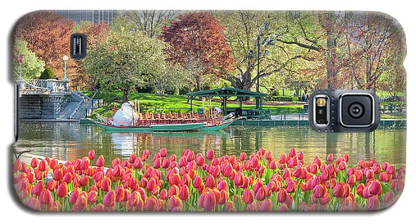 Swans And Tulips 2 Galaxy S5 Case