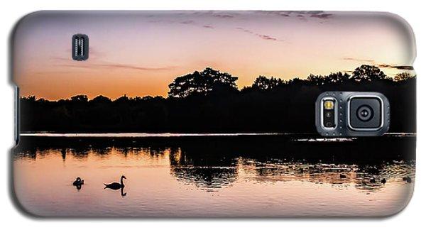 Swans At Sunrise Galaxy S5 Case