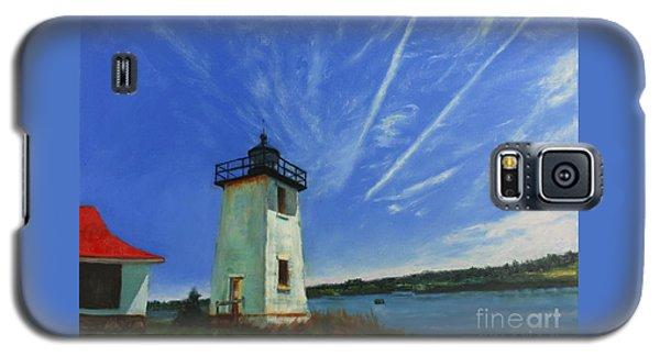 Swans Island Lighthouse Galaxy S5 Case