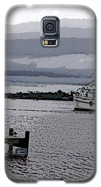 Swansboro Harbor Galaxy S5 Case by Skyler Tipton
