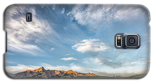 Galaxy S5 Case featuring the photograph Sweeping Clouds by Jon Glaser