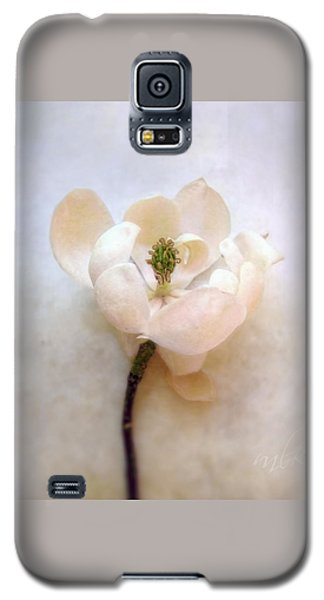 Sweet Bay Magnolia Bloom Galaxy S5 Case by Louise Kumpf