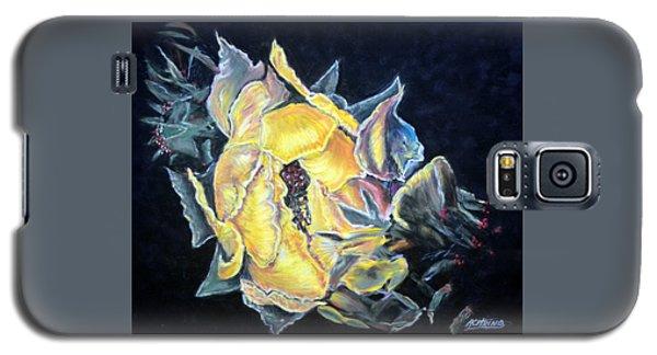Sweet Desert Rose   Pastel Galaxy S5 Case by Antonia Citrino