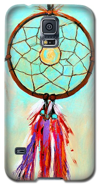 Galaxy S5 Case featuring the painting Sweet Dream Catcher by M Diane Bonaparte