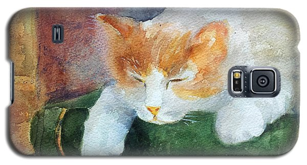 Sweet Dreams On The Books Galaxy S5 Case by Faruk Koksal