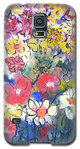Galaxy S5 Case featuring the painting Sweet Fragrance by Gary Smith