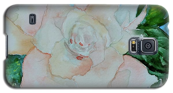 Galaxy S5 Case featuring the painting Sweet Gardenia by Beverley Harper Tinsley
