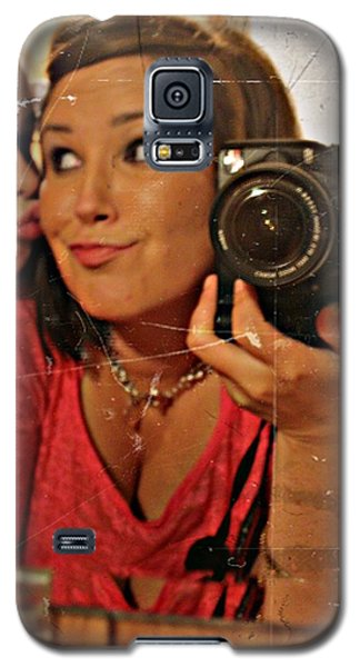 Galaxy S5 Case featuring the photograph Sweet Innocence- Fine Art Print by KayeCee Spain