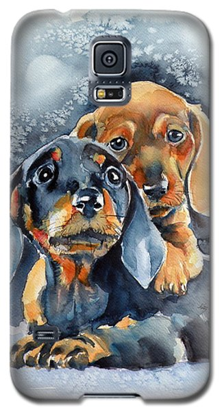 Sweet Little Dogs Galaxy S5 Case