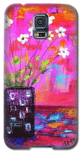 Sweet Little Flower Vase Galaxy S5 Case