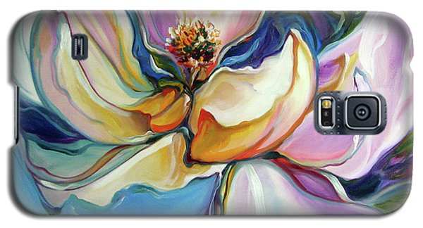 Sweet Magnoli Floral Abstract Galaxy S5 Case