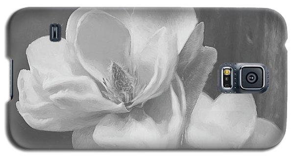 Magnolia Galaxy S5 Case - Sweet Magnolia Blossom Bw by Teresa Wilson
