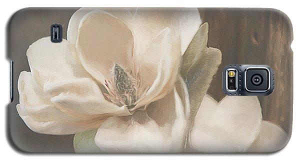 Magnolia Galaxy S5 Case - Sweet Magnolia Blossom by Teresa Wilson