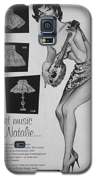 sweet music by Natalie... Galaxy S5 Case