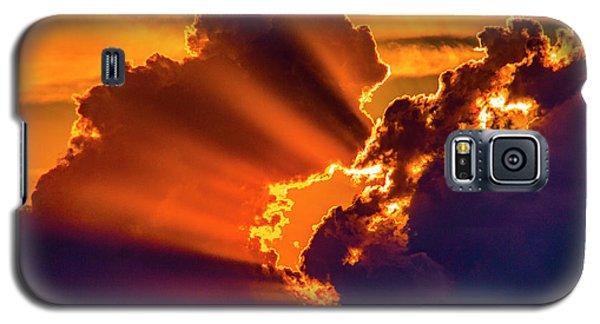 Sweet Nebraska Crepuscular Rays 010 Galaxy S5 Case