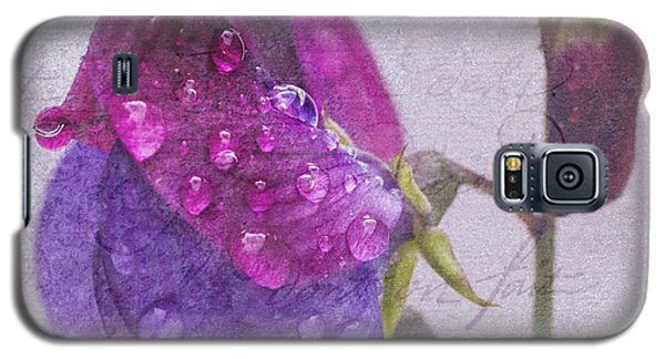 Sweet Pea Raindrops Galaxy S5 Case