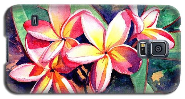 Sweet Plumeria Galaxy S5 Case