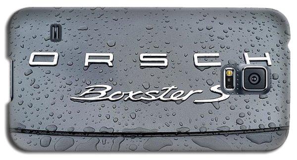 Rain Drops On A Porsche Boxster S Galaxy S5 Case