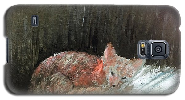 Galaxy S5 Case featuring the painting Sweet Slumber by Trilby Cole
