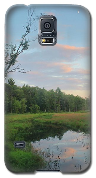 Swift River Sunset Galaxy S5 Case by John Burk