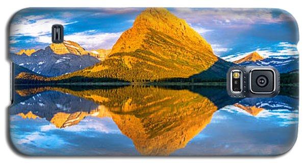 Swiftcurrent Lake Sunrise Panorama Galaxy S5 Case
