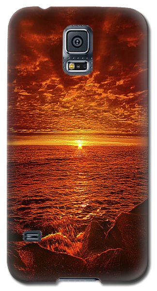 Galaxy S5 Case featuring the photograph Swiftly Flow The Days by Phil Koch