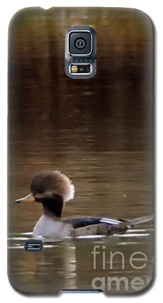 Galaxy S5 Case featuring the photograph Swimming Alone by Tamera James