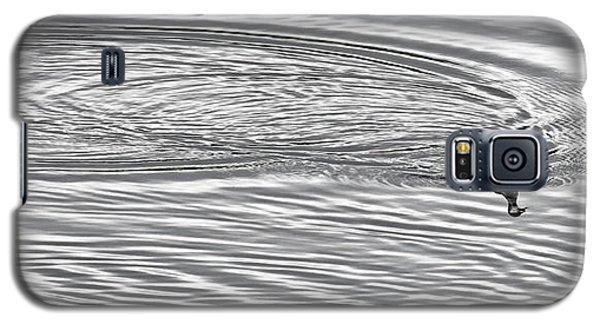 Galaxy S5 Case featuring the photograph Swimming From Circles by Joe Bonita