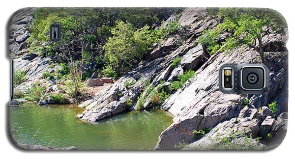 Galaxy S5 Case featuring the photograph Swimming Hole by Teresa Blanton